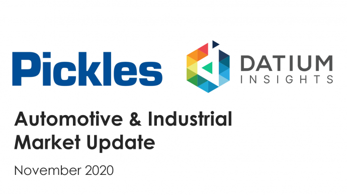 Webinar - Automotive and Industrial Market Update November 2020