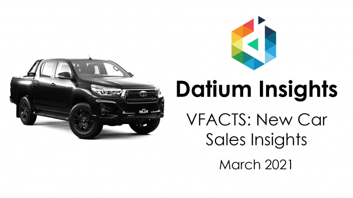 Datium Insights Monthly VFACTS Update